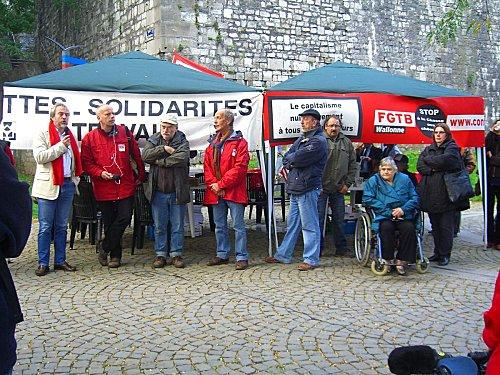 2010 - avec les travailleurs sans emploi