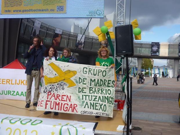 Sofia Gatica qui a gagné un procès contre Monsanto en Argentine!